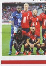 N°126 EQUIPE TEAM SQUADRA 1/2 # LILLE LOSC STICKER FOOT 2014 PANINI