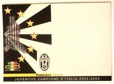 Cartolina Juventus Campione D'Italia 2004-05 Poste Italiane Filatelia