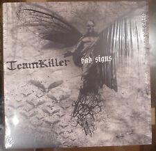 TEAMKILLER - BAD SIGNS LP GREY SPLATTER HARDCORE