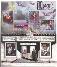 Ireland-Dracula-Bram Stoker set of 2 min sheets mnh