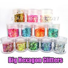 12 Colour Set Glitter Nail Art Powder Tips Rhinestone Decoration Manicure #420