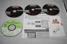 3x CDs originale Canon, software per la fotocamera EOS 400D Canon + accessori