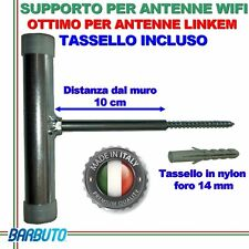 STAFFA ANTENNA WIFI - LINKEM OUTDOOR - WIFI PUNTO PUNTO - CPE - MADE IN ITALY