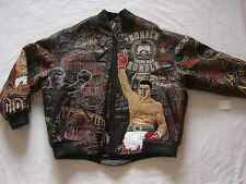 Adidas Al Wissam Muhammad Ali Leather Jacket Large 2007 release only 1097 Rare