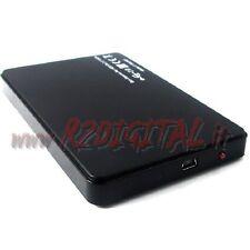 """CASE BOX ESTERNO LINQ USB HARD DISK 2.5"""" SATA 2.5 POLLICI CASE AUTO ALIMENTATO"""