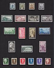 ALBANIA 1940/41 OCCUPAZIONE ITALIANA-PITTORICA CPL.P.O.+P.A.INTEGRA**-SASS. €750