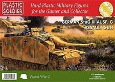 20MM GERMAN STUG III AUSF G ASSAULT GUN  - PLASTIC SOLDIER COMPANY - WW2 TANK