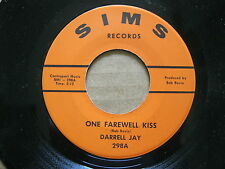 rare DARRELL JAY 45 RPM One farewell kiss / Address unknown EX - Sims 298