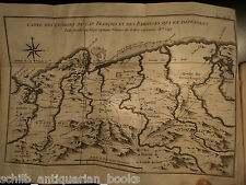 1781 Voyages Jesuit Missions America New Orleans Louisiana Canada New France Map