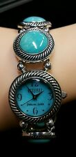 ECCLISSI TURQUOISE GEMSTONE STRETCH WATCH