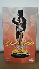 *COVER GIRLS OF THE DC UNIVERSE ZATANNA STATUE DIRECT BATMAN ADAM HUGHES