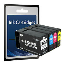 1 Set Ink Cartridges PGI-1500XL for Canon MAXIFY MB2050 MB2350
