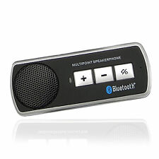 BLUETOOTH HEADSET HANDSFREE CAR SPEAKER KIT FOR SAMSUNG IPHONE NOKIA LG