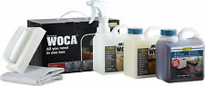 Woca Maintenance Kit for Natural Oiled Wood Floors - With Maintenance Oil