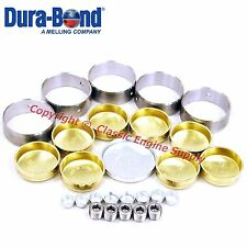 New Cam Bearings & Brass Freeze Plug Set 1968-2003 Chevy sb 350 305 LT1 LT4