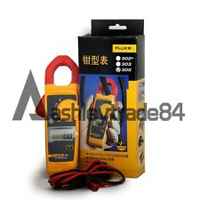 NEW Fluke 305 Digital Clamp Meter Current Voltage Multimeter1000A