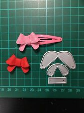D014 Bow Cutting Die for Sizzix Spellbinders Etc. Machine