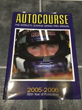 David Coulthard SIGNED Autocourse Annual ,Couthard Ltd Ed Version 2005/6