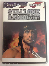 Rambo - First Blood Pt. 2 (DVD, 2003, 2-Disc Set, Special Edition) Tested! Works