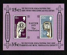 CAYMAN IS - 1975 - EASTER - CRUCIFIXION - 14th CENTURY - MINT S/SHEET!