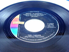 THE T-BONES - Sippin' 'N Chippin' / Moment Of Softness - 1966 VG++ CANADA PRESS