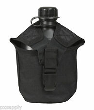 CANTEEN COVER MOLLE COMPATIBLE 1 QUART BLACK ROTHCO 40111