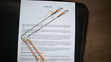 DOWSING ROD, COPPER, ENERGY,, HEALING, PARANORMAL WATER WITCHING , LOST OBJECTS