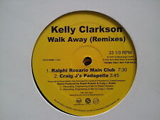 Kelly Clarkson - Walk away 2 x 12'' PROMO Remixes