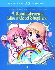 A Good Librarian Like A Good Shepherd . Anime . 2 DVD + 2 Blu-ray . NEU . OVP