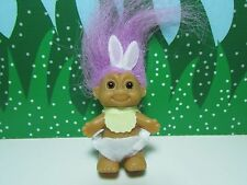 """EASTER STANDING BABY BUNNY - 2"""" Russ Troll Doll - NEW STORE STOCK"""