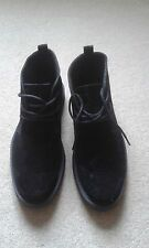 MENS TEX MAN BLACK  BOOTS SIZE 8