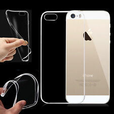 Crystal Clear Transparent Soft Thin Gel Silicone TPU Case Cover For iPhone 4 4S