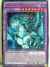 Yu-Gi-Oh - 1x Amulettdrache - DRL3 - Dragons of Legend Unleashed - Ultra Rare