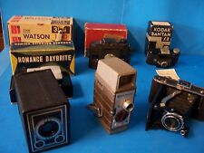 ANTIQUE/VINTAGE LOT OF CAMERAS AND ATTACHMENTS--ALL COLLECTABLE