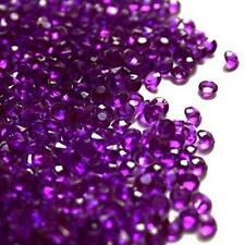 2000 Purple Acrylic Diamond Confetti 4.5mm for Wedding Decoration Table Scatters