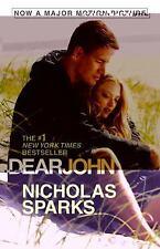 Dear John by Nicholas Sparks (2009, Paperback, Movie Tie-In)