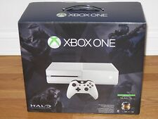 Xbox One Halo Master Chief White Console 500G System Bundle *NEW SEALED*