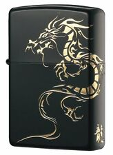 Brand New Zippo Lighter Dragon Black Gold FreeShipping  from Japan