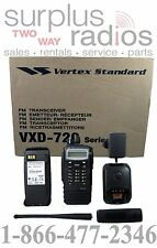 NEW VERTEX DIGITAL VXD-720 UHF 450-512MHZ 4W 512CH RADIO MOTOROLA DMR TRBO READY