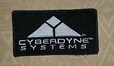 TERMINATOR MOVIE PROP 1 2 3 SALVATION CYBERDYNE SYSTEMS EMBROIDERED PATCH/ BADGE