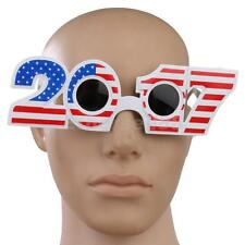 Novelty USA US Flag Stars 2017 Sunglasses Fancy Dress Costume Party Glasses