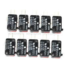10pcs MICRO SWITCH V-15-1C25 ROLLER TIP LEVER SNAP ACTION SWITCH