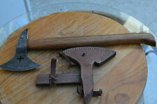 Rare damascus handmade hunting axe and knife New From The Eagle Collection A