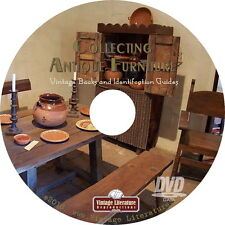 Antique Furniture Collecting { 64 Vintage Books } on DVD