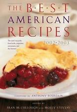 Best American: The Best American Recipes 2002-2003 (2002, Hardcover)