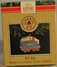 Hallmark - Gift Car - Claus & Co - 2nd of 4 Trains - 1991 - Ornament