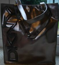 """DKNY"" logo silver/bronze ladies Tote bag-NEW"