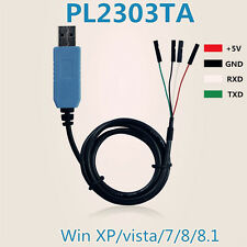 2 x PL2303TA USB TTL to RS232 Converter Serial Cable module for win 8 XP 7 8.1