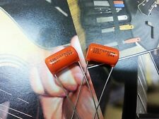 2 x Sprague Orange Drop Capacitors .022µF 600V