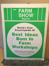 Ideas Born in Farm Workshops Build Convert Adapt  Equipment Homesteading Save $